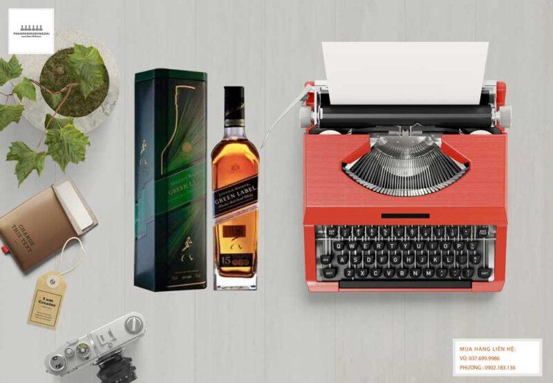 Rượu Johnnie Walker Green Label lịch lãm và sang trọng
