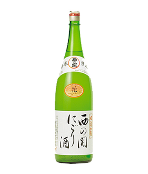 Rượu Sake Nishi No Seki Nigori 1800 ml cho biếu tặng hoặc thưởng thức