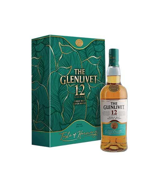 Rượu The Glenlivet 12 năm hộp quà tết 2021