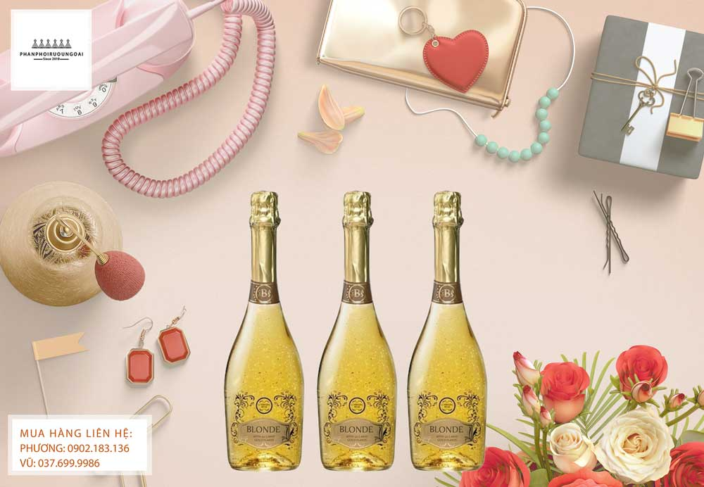 Rượu vang nổ Tây Ban Nha Vẩy vàng Fogoso