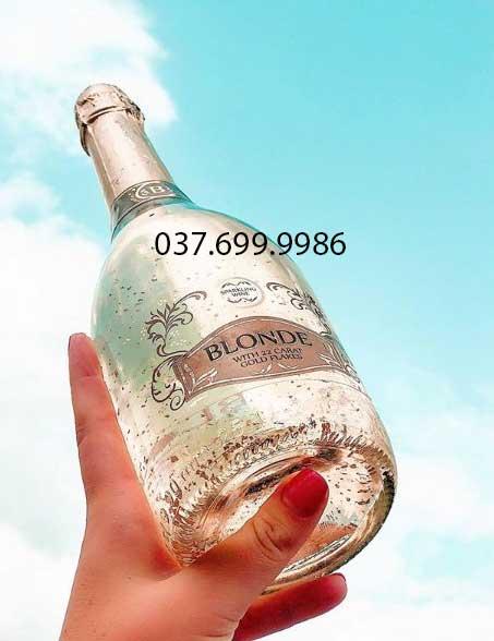 Rượu vang sủi vẩy vàng Fogoso Tây Ban Nha 2021