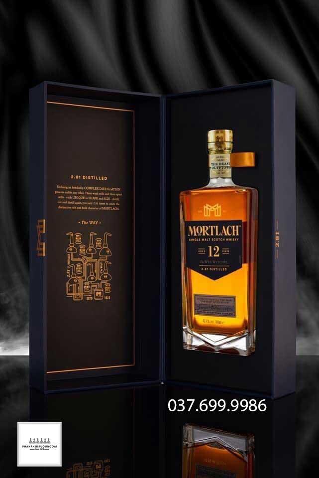Ảnh Rượu Single Malt Whisky Mortlach 12 năm 2021
