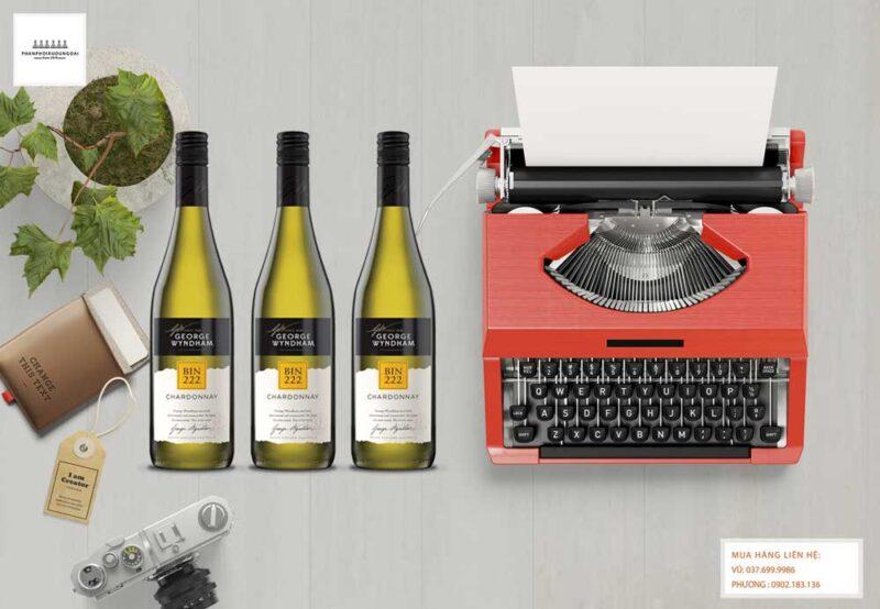 Ảnh Rượu vang George Wyndham Bin 222 Chardonnay