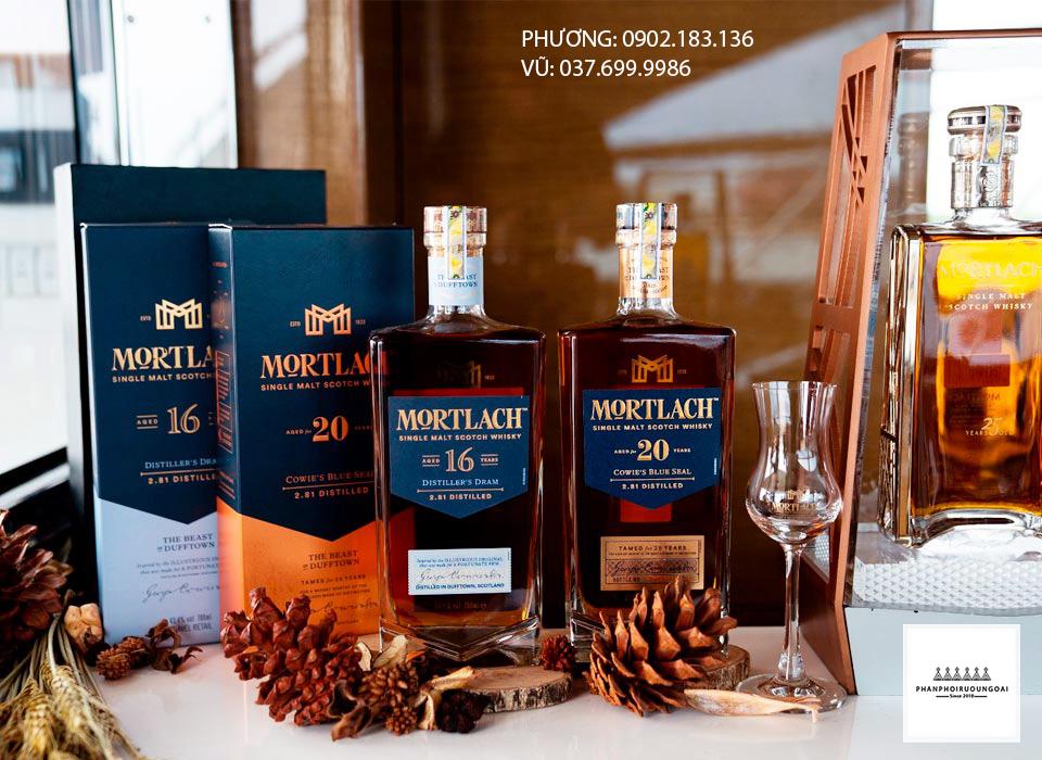 Các loại rượu Whisky sang trọng Mortlach