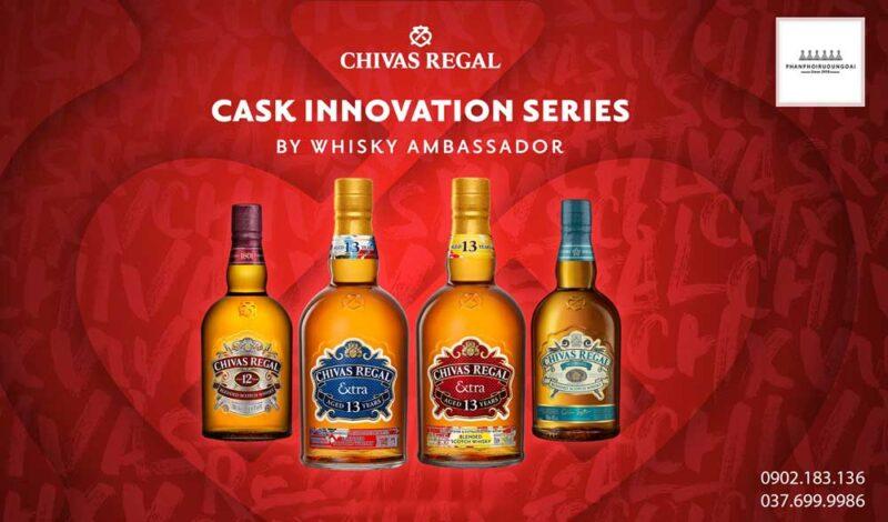 Các vị đại sứ của tinh thần sáng tạo của nhà Chivas Regal