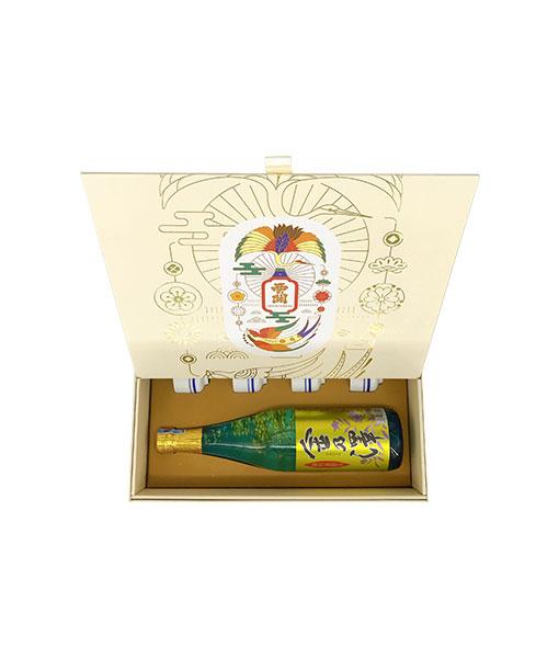 Góc chụp rượu Sake hộp quà tết 2021 set 11