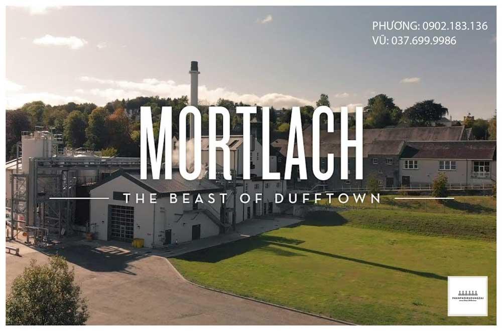 Nơi bắt đầu thương hiệu rượu Mortlach