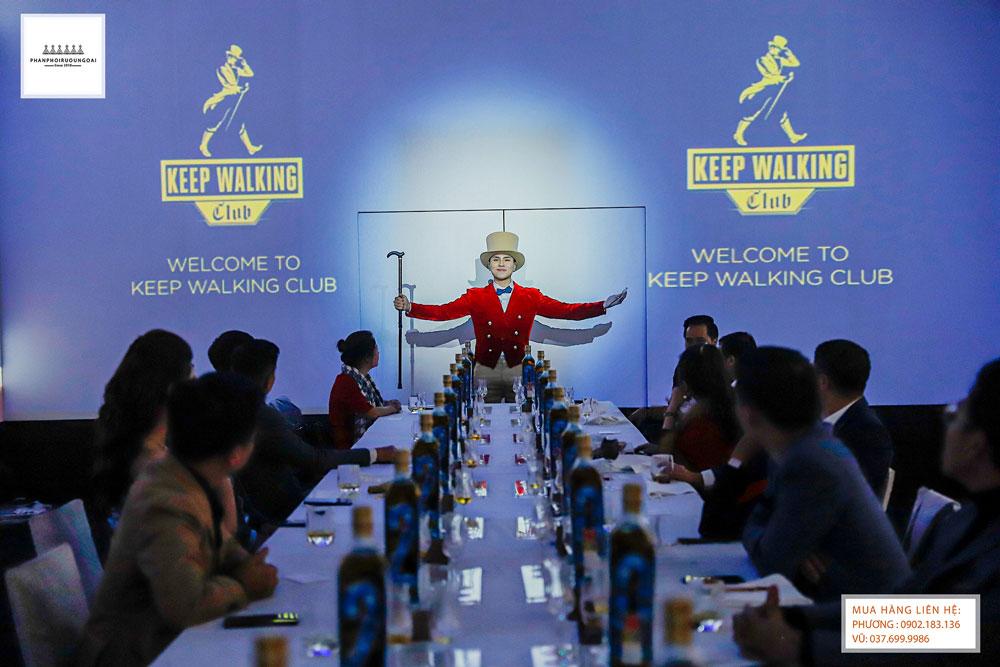 Quý ngài Keep Walking mở màn đại tiệc Whisky Dinner
