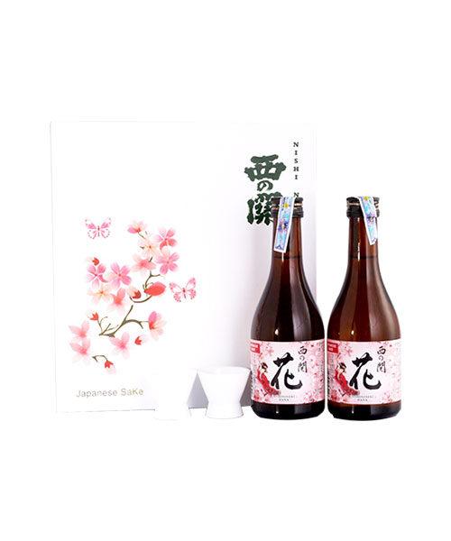 Rượu Sake Nishino Seki hộp quà tết 2021