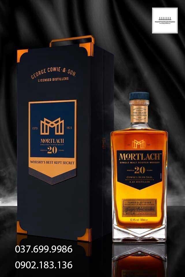 Rượu Single Malt Whisky Mortlach 20 năm tuổi