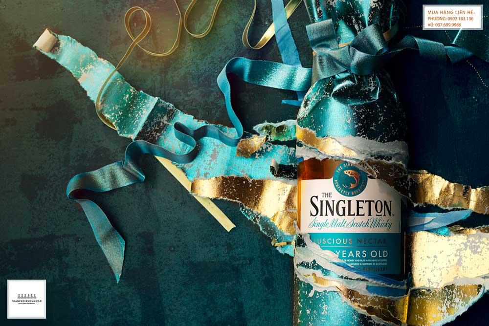 Rượu Singleton sang trọng và lịch lãn trong tết 2021