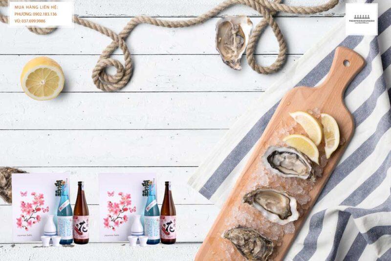 Thưởng thức rượu Sake Nishino Seki hộp quà tết 2021 set 8