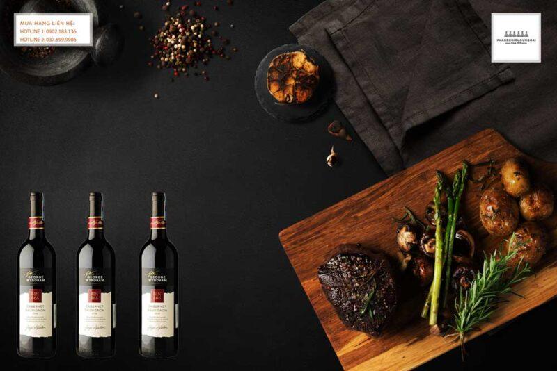 Thưởng thức rượu vang Úc George Wyndham Bin 868 Cabernet Sauvignon