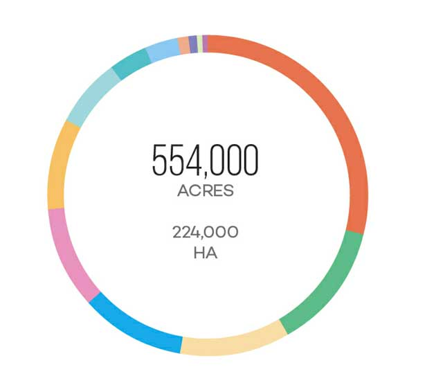 Phân bố khu vực trồng nho tại Bồ Đào Nha