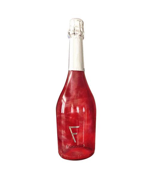 Rượu vang nổ Fogoso Rosa cho biếu tặng năm 2021