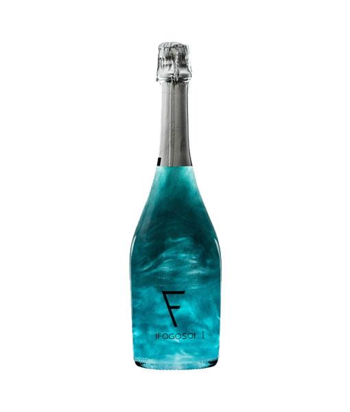 Rượu vang nổ Xanh Fogoso Azul 2021 cho biếu tặng