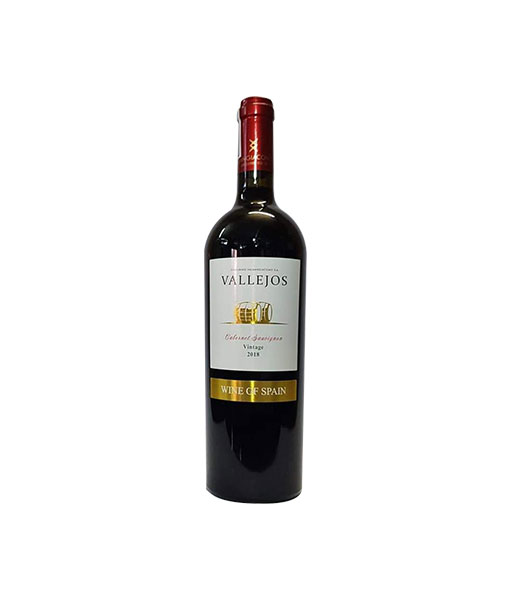 Rượu vang Tây Ban Nha Vallejos Cabernet Sauvignon