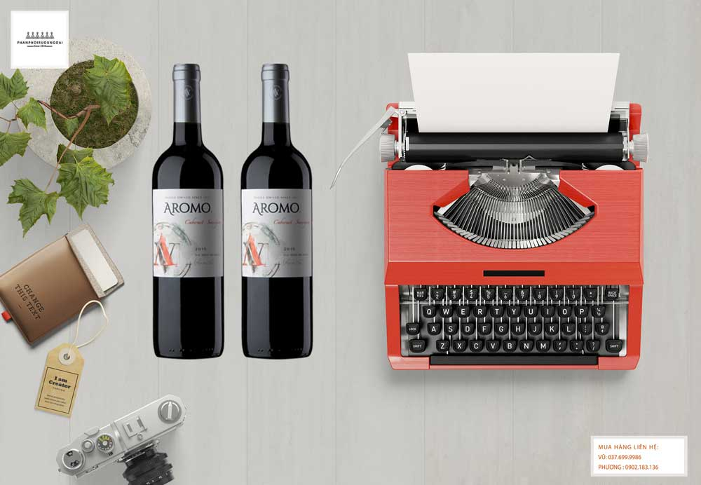 Ảnh Rượu Vang Chile Vina Aromo Cabernet Savignon