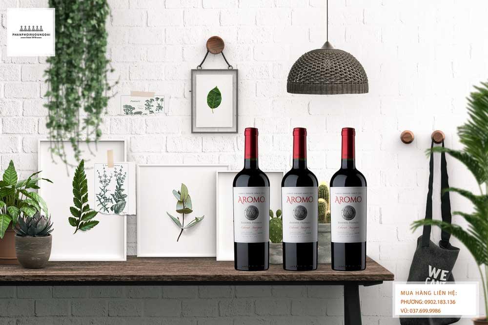 Ảnh Rượu vang Chile Vina Aromo Reserva Privada Cabernet Sauvignon