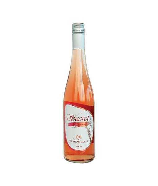 Rượu vang Chateau Dalat Secret Premium Rose