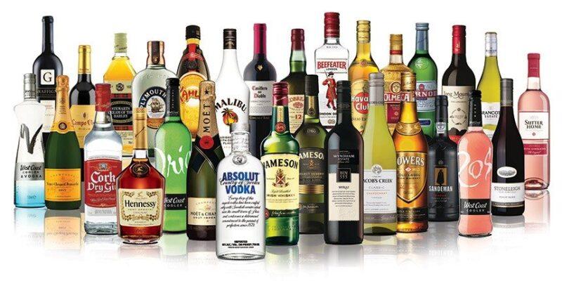 Một số dòng sản phẩm của Pernod Ricard