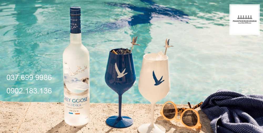 Hình ảnh rượu Grey Goose Vodka tại bữa tiệc