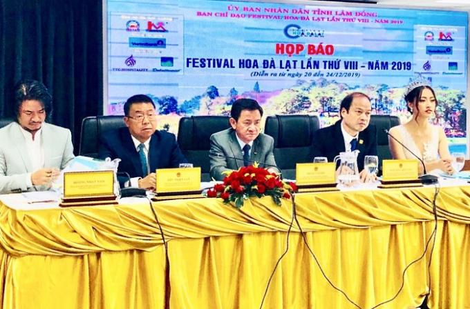 Ban tổ chức Festival hoa đà lạt 2019