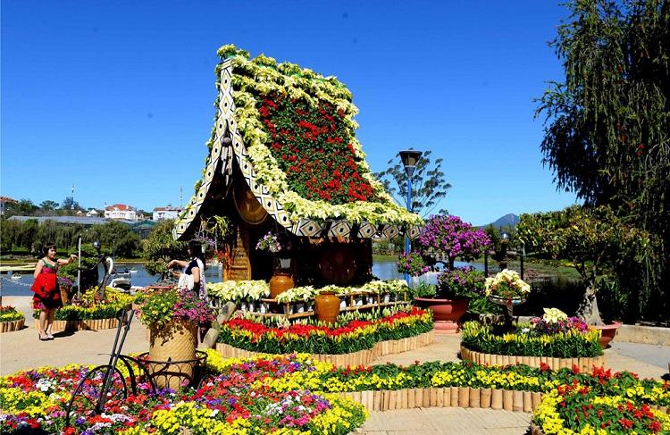 Khai mạc Festival le hoi hoa đà lạt VIII