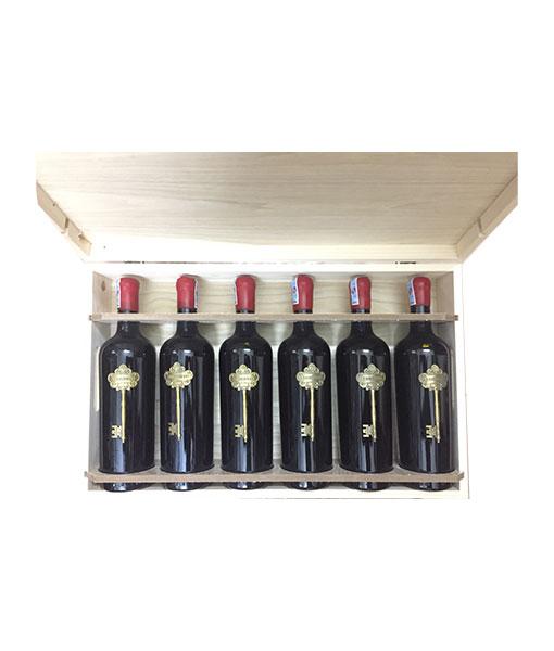 Rượu vang ý giá rẻ Segreto 16 độ - mở hộp