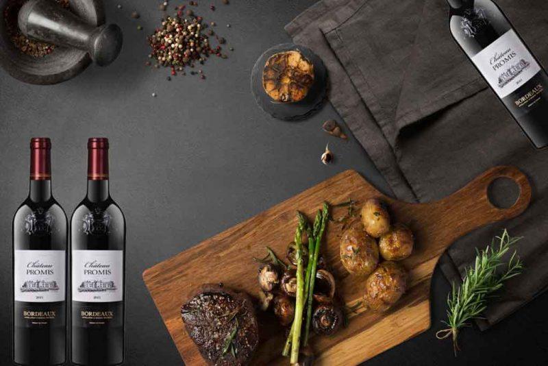 Món ăn ngon và rượu vang pháp giá rẻ