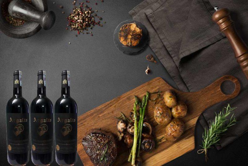 Món ăn ngon và rượu vang pháp giá rẻ Argalis