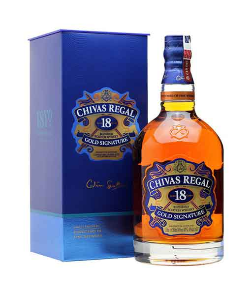 Rượu Chivas 18 năm Gold Signature