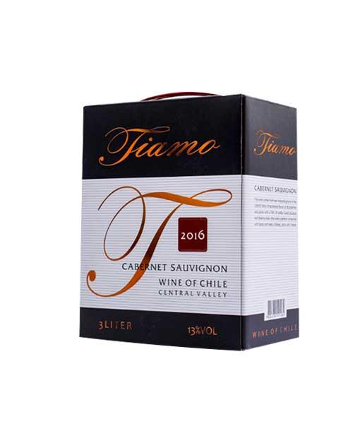 Rượu vang Chile giá rẻ Tiamo 3 lít
