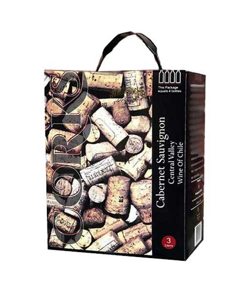 Rượu vang bịch giá rẻ Chile Corks Cabernet Sauvignon