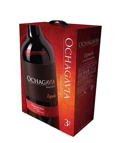 Rượu vang bịch Chile Ochagavia
