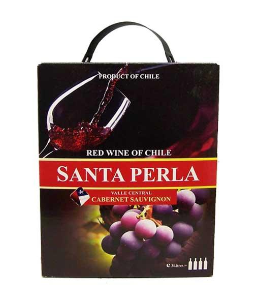 Rượu vang bịch Chile Santa Perla 3 lít
