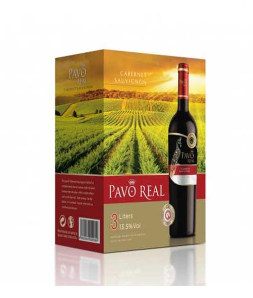 Rượu vang bịch Chile Pavo Real Cabernet Sauvigon