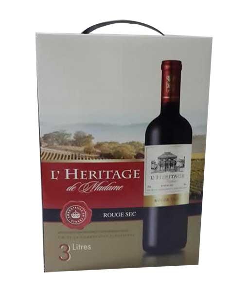 Rượu vang bịch Pháp L' Heritage