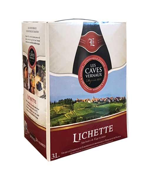 Rượu vang bịch Pháp giá rẻ Lichette