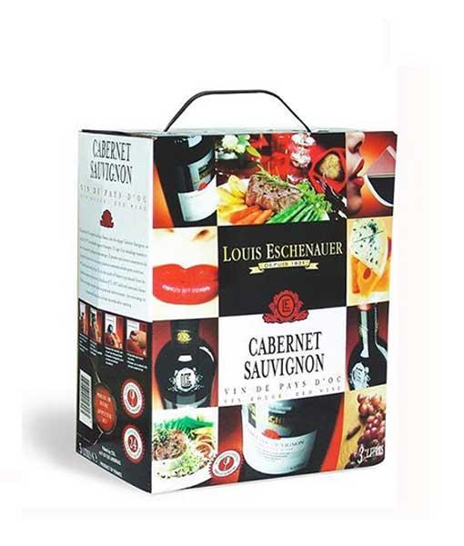 Rượu vang bịch Pháp Louis Eschenauer 3 lít