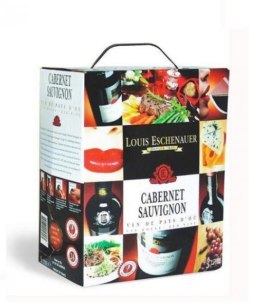 Rượu vang bịch Pháp giá rẻ Louis Eschenauer 5 lít