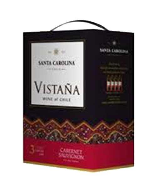Rượu vang bịch Chile 3 lít Vistana