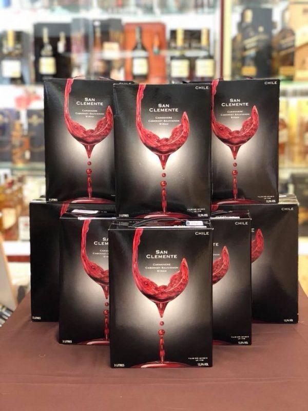 Rượu vang Chile Bịch 3 lít và 5 lít giá rẻ