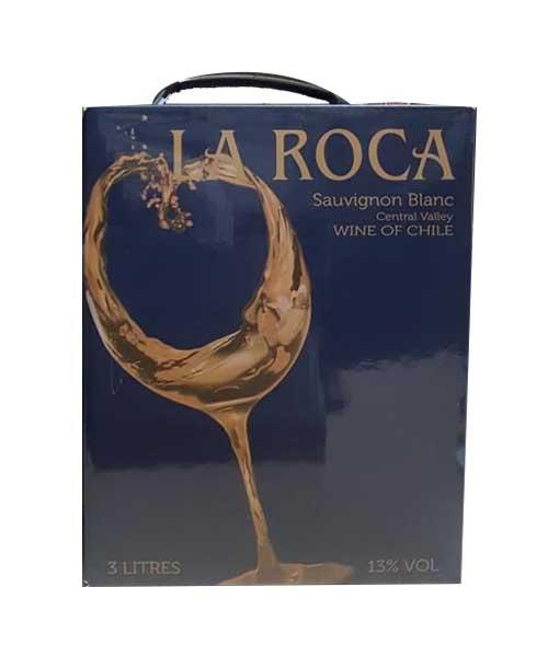 Rượu vang bịch Chile La Roca Sauvignon Blanc 3 lít
