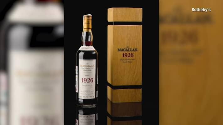 Rượu Macallan 1926 - Rượu Whisky đắt giá nhất thế giới