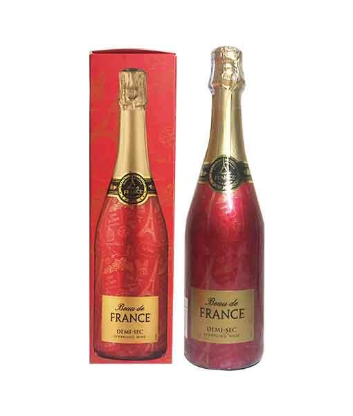 Rượu vang nổ Pháp Beau de France giá rẻ