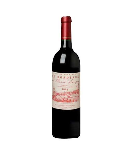 Rượu vang Pháp giá rẻ Bordeaux de Pirre Longue