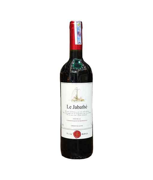 Rượu vang Pháp giá rẻ Le Jabathe