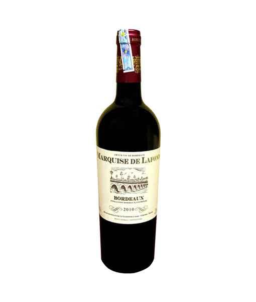 Rượu vang Pháp Marquise de Lafond Bordeaux