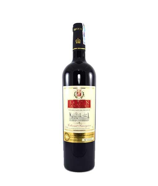 Rượu vang Pháp giá rẻ Baron Saint Alexis